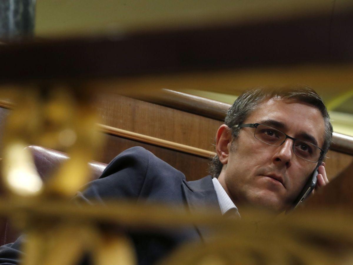 Foto: Eduardo Madina durante su etapa como diputado en el Congreso. (EFE)