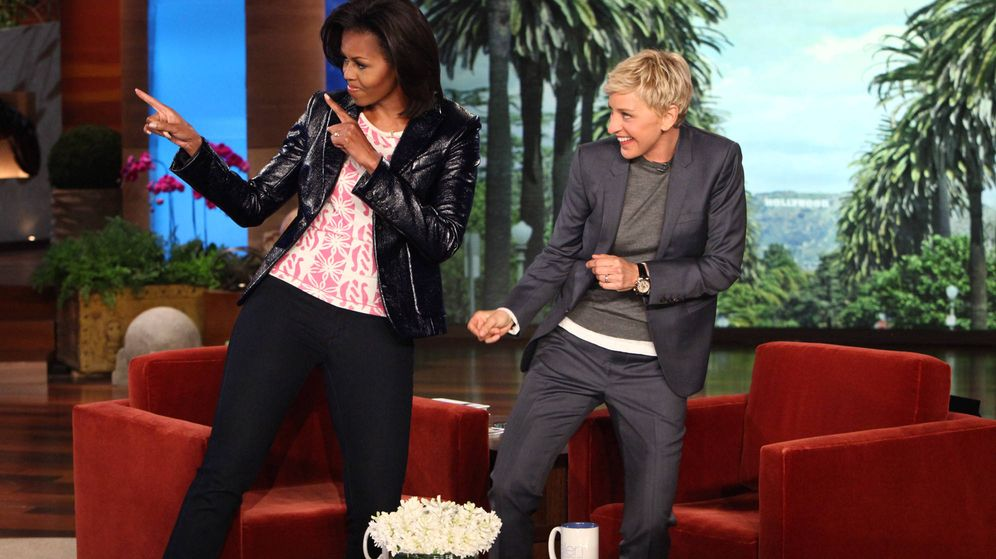 Foto: Ellen DeGeneres y Michelle Obama