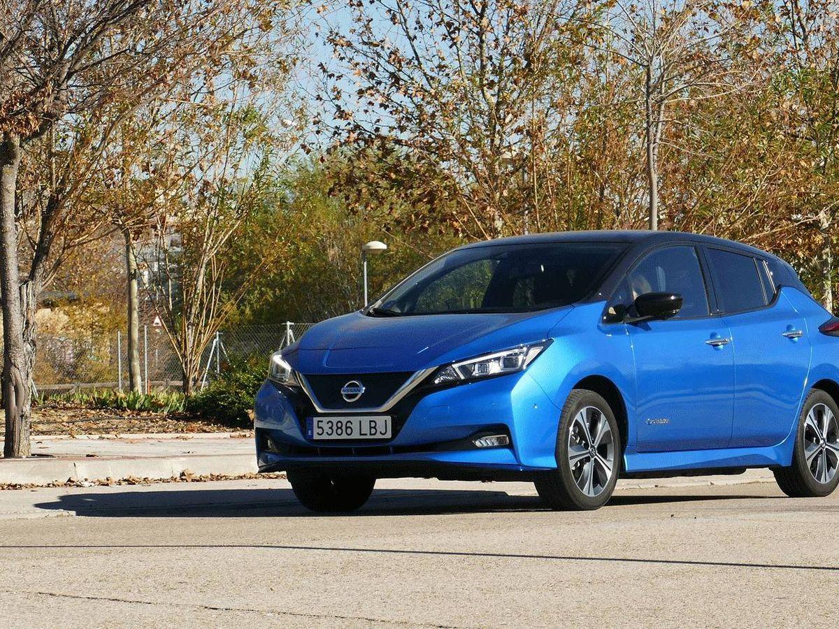Foto: El Nissan Leaf con sus 385 km de autonomía homologada es la respuesta a las exigencias de la nueva movilidad en las ciudades.