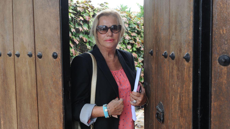 Foto: Mayte Zaldívar en una imagen de archivo en Marbella (Gtres)