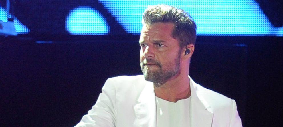 Foto: El portorriqueño, durante el concierto