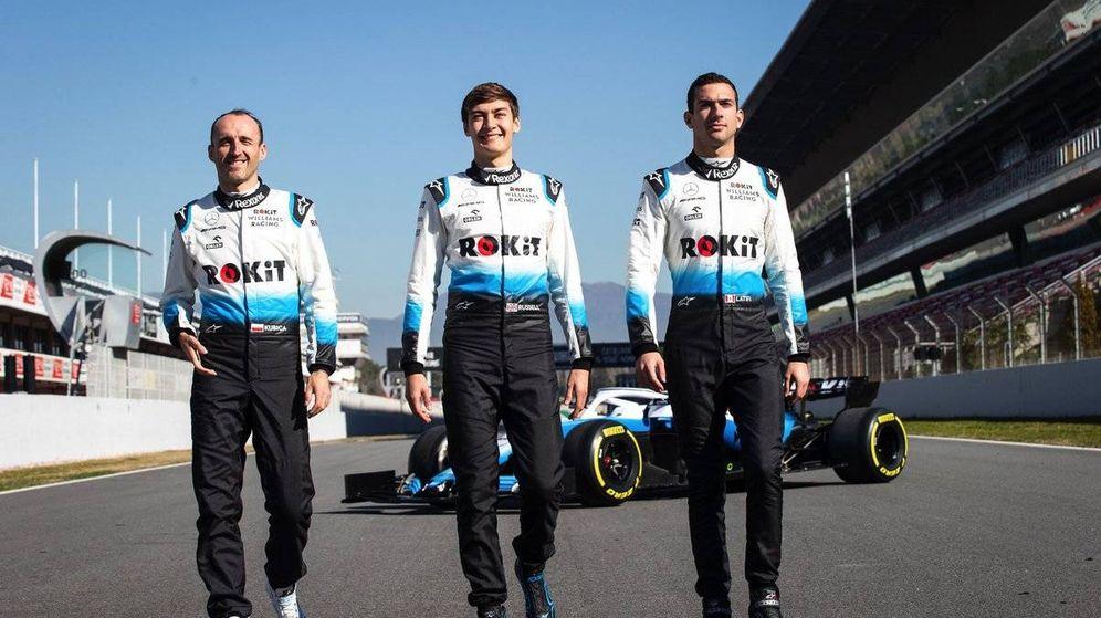 Foto: Los pilotos de Williams siguen inéditos en la pretemporada (Williams)