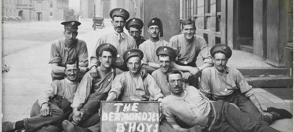 Foto: La primera fotoperiodista en enviar postales de la Gran Guerra