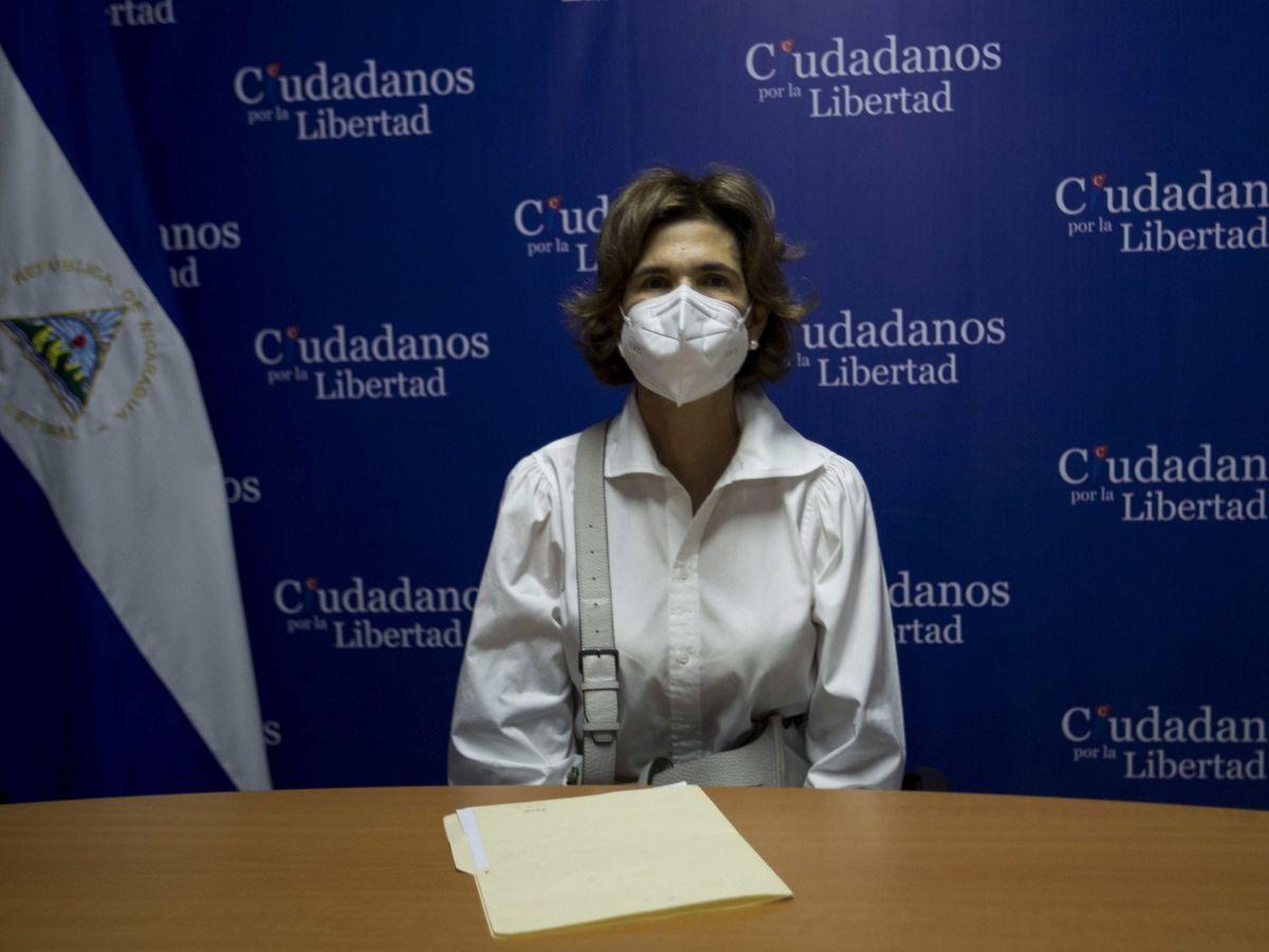 Foto: La opositora Cristiana Chamorro Barrios. (EFE)