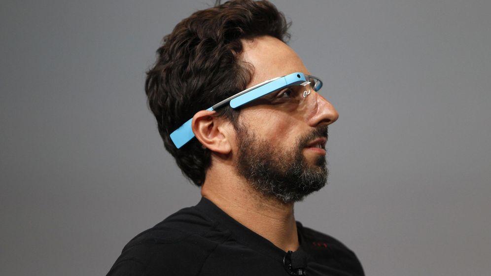 Foto: Sergey Brin, CEO de Google, con unas Google Glass puestas (Reuters)