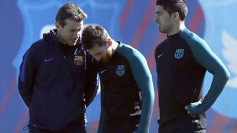 Messi 'enreda' con Unzué, aunque el Barcelona ha elegido a Valverde