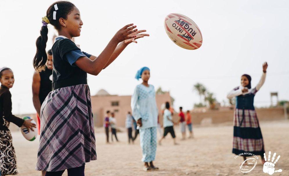 Foto: La aventura de jugar al rugby en el desierto
