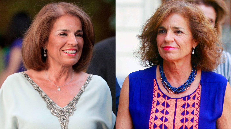 A la izquierda, Ana Botella esta semana. Derecha, la exalcaldesa hace un par de años. (CP)