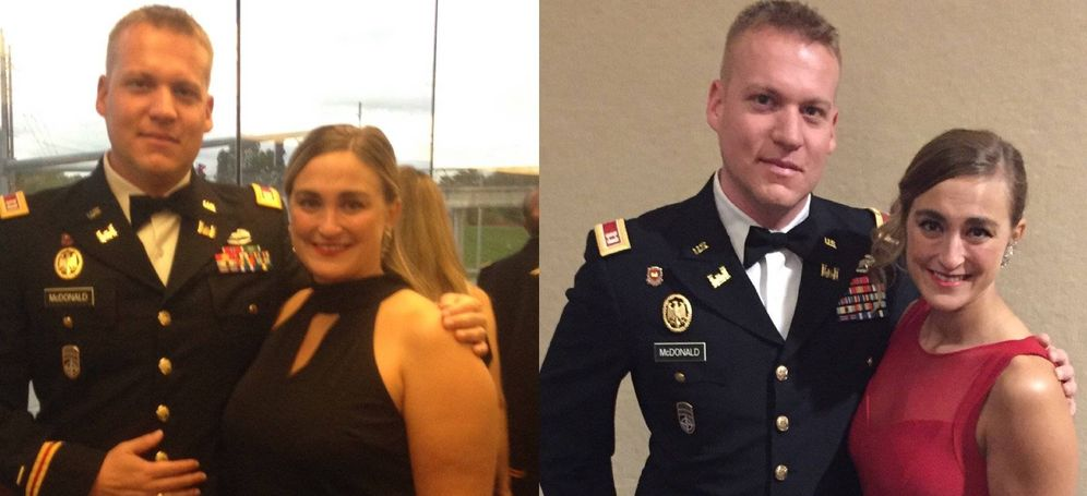 Foto: Antes y ahora de Lindsey. (Facebook)