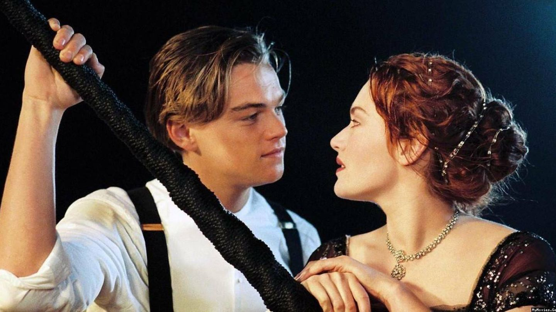 DiCaprio y Kate Winslet en una imagen de 'Titanic'.