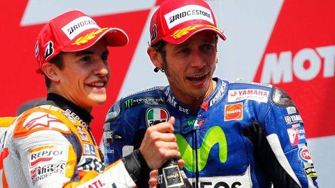 Valentino Rossi utiliza a Márquez como peón en su particular guerra psicológica