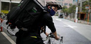 Post de De medallista olímpico a repartidor de comida a domicilio en bicicleta