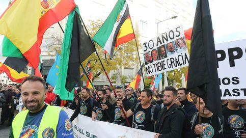 Egea en la marcha de Policía y Guardia Civil: Prefiero Sol así ,que llena de perroflautas
