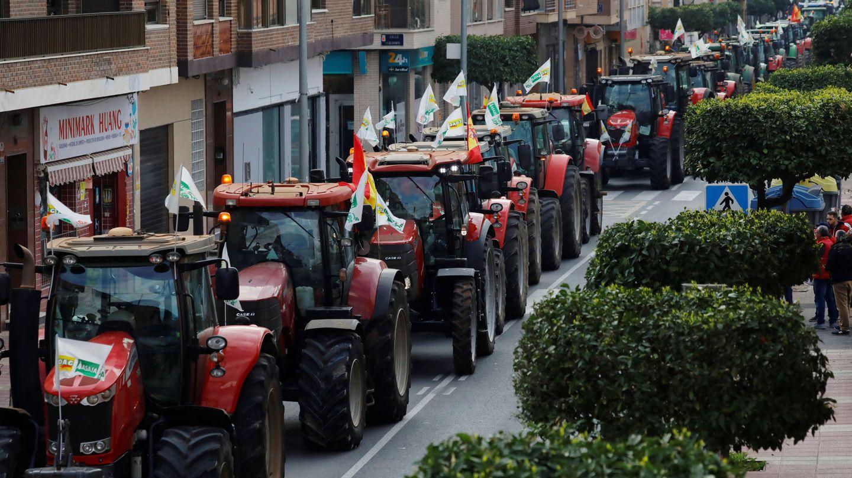 Protestas en Murcia (EFE)