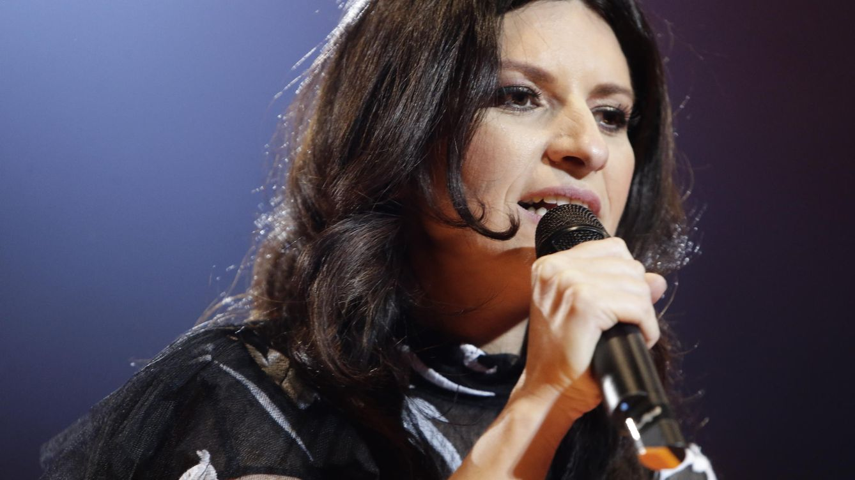 Foto: Laura Pausini durante un concierto (Gtres)