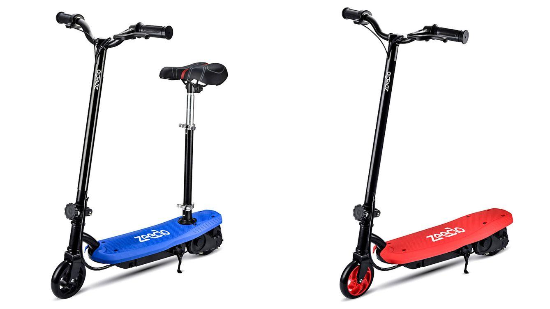 Foto: Patinete eléctrico 6''P0, de Zeeclo, el 'scooter' más pequeño y ligero.