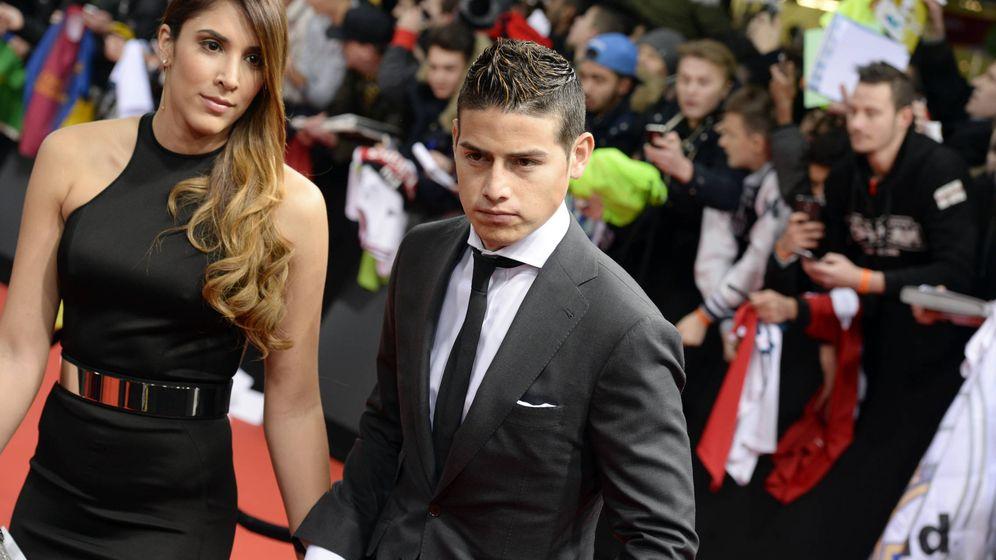 Foto: James Rodríguez y Daniela Ospina en una imagen de archivo. (Gtres)