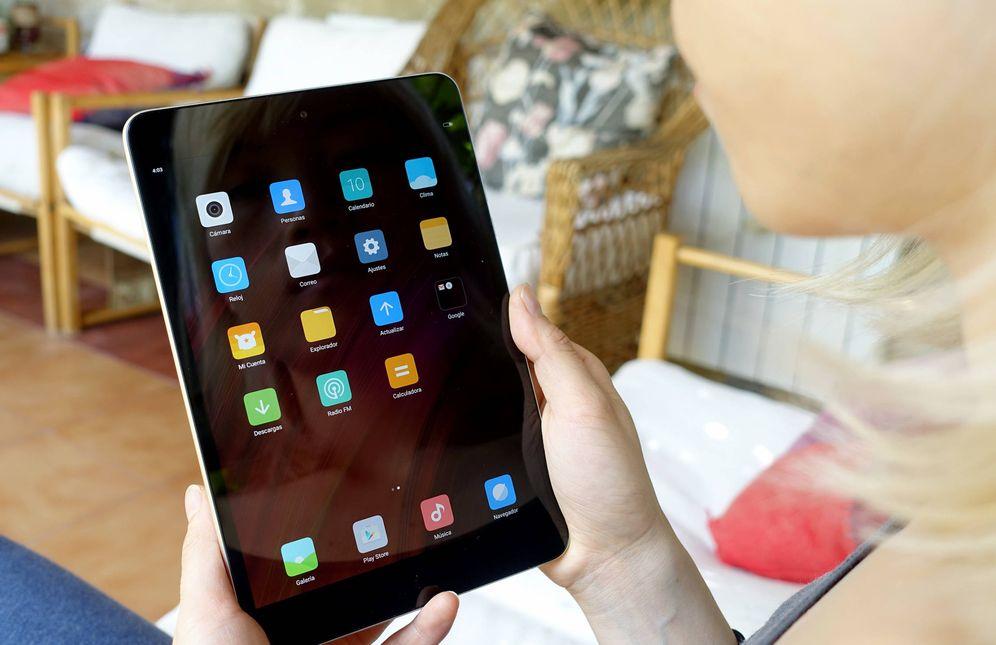 Foto: El nuevo Mi Pad 3 de Xiaomi. (Foto: Zigor Aldama)