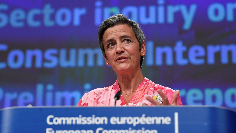 Margrethe Vestager, vicepresidenta ejecutiva de la Comisión Europea a cargo de Competencia. (Reuters)