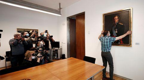 El PSN impide que prospere una declaración de Podemos contra el rey emérito