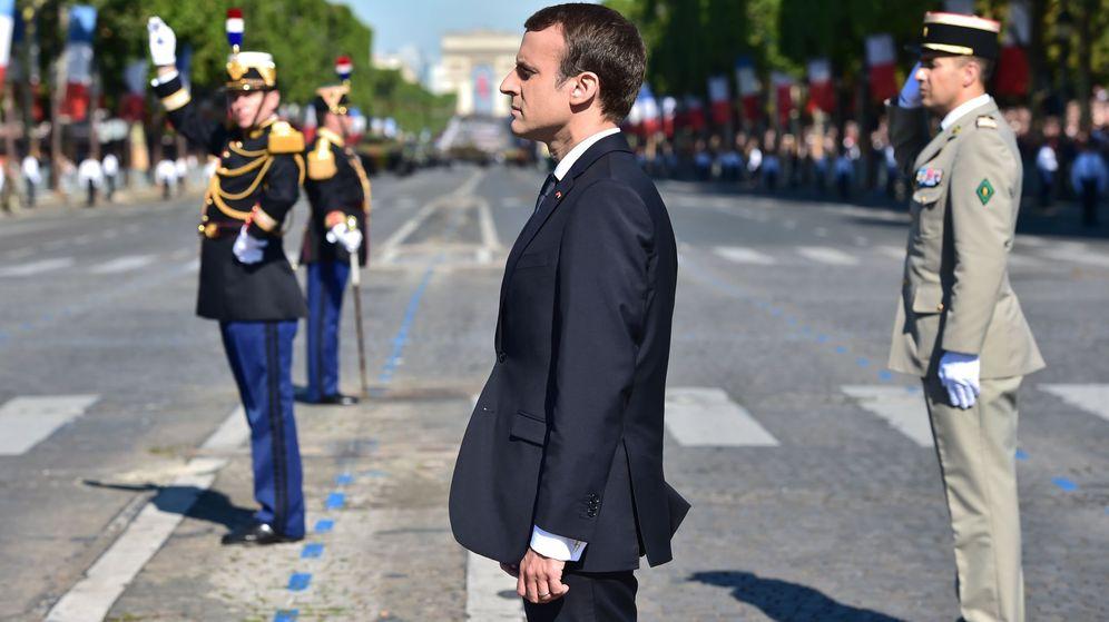 Foto: Celebración del Día de la Bastilla en Francia | EFE