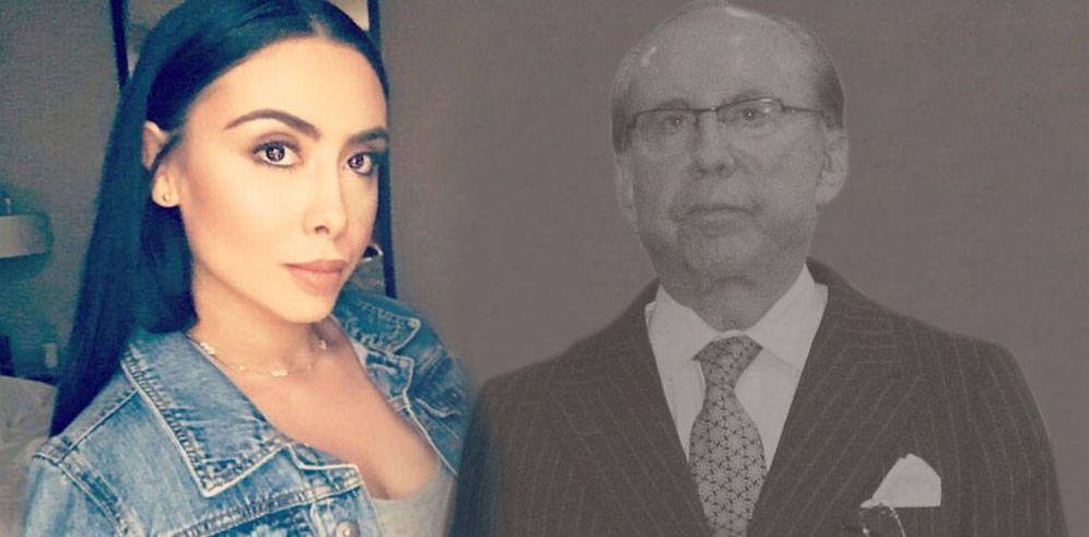 Foto: Adela Montes de Oca con su padre biológico, el fallecido José María Ruiz-Mateos. (Vanitatis)