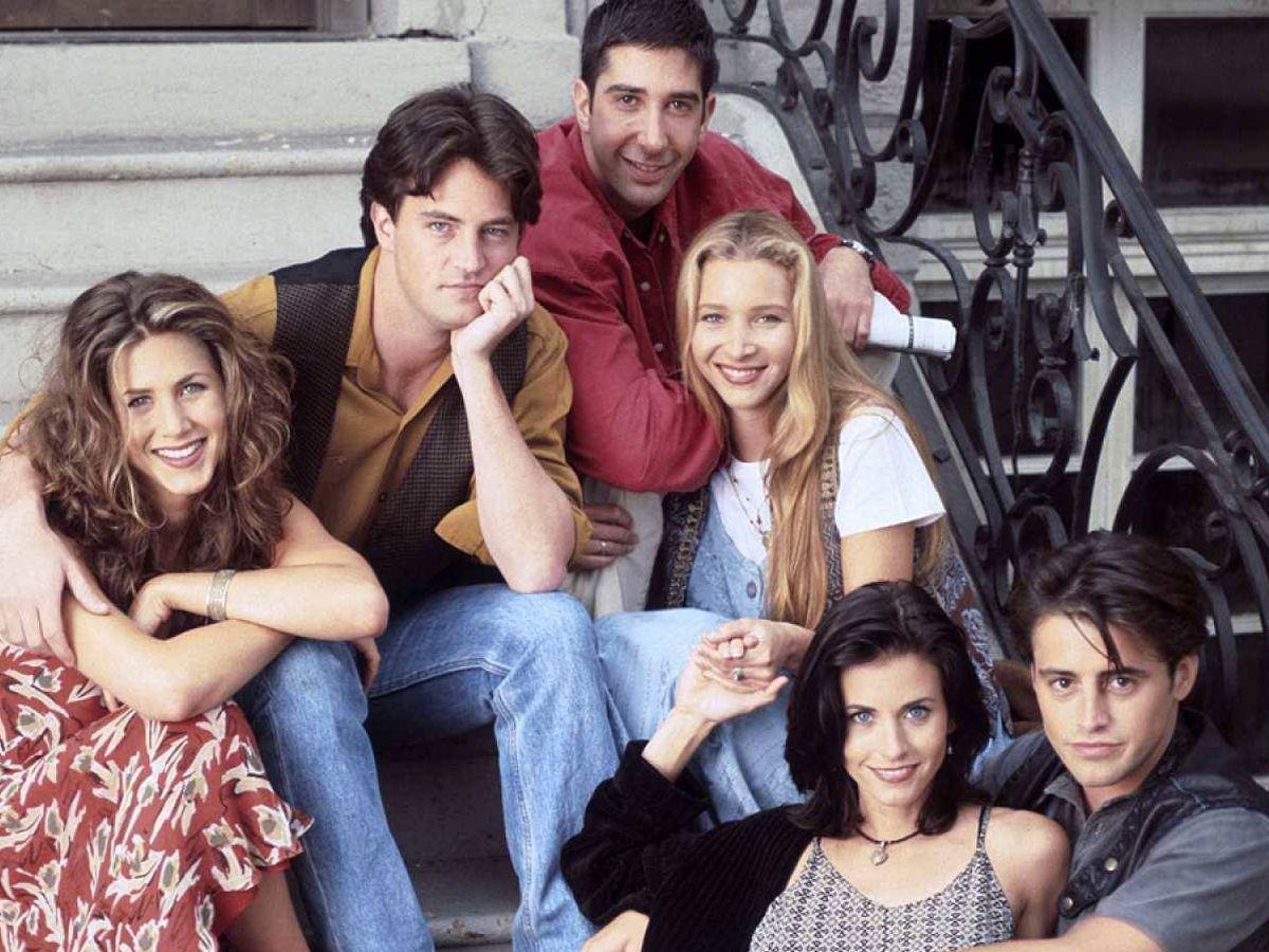 Foto: Imagen de la comedia 'Friends'. (NBC)