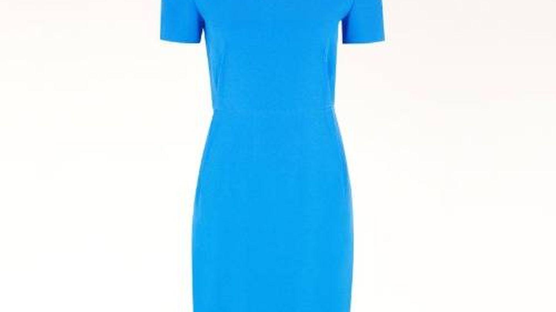 El vestido de Stella McCartney que lleva Kate Middleton. (Cortesía)