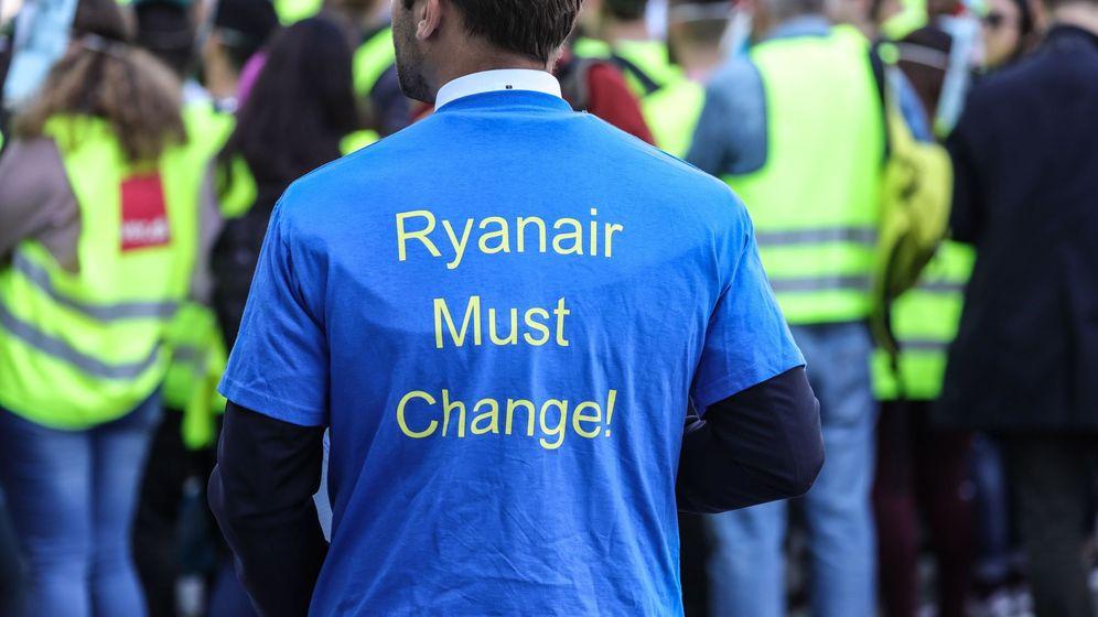 Foto: Huelga de los empleados de ryanair