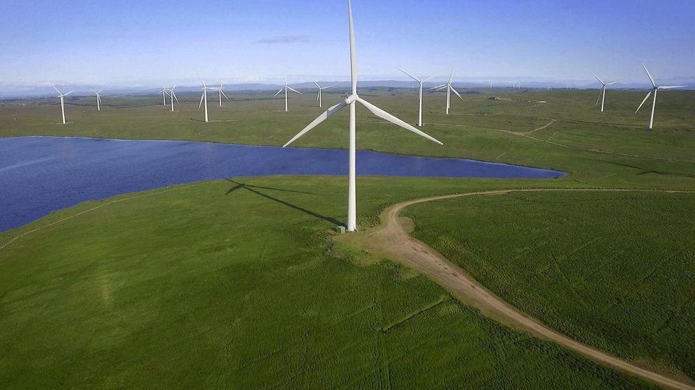 Foto: Parque de energía eólica.