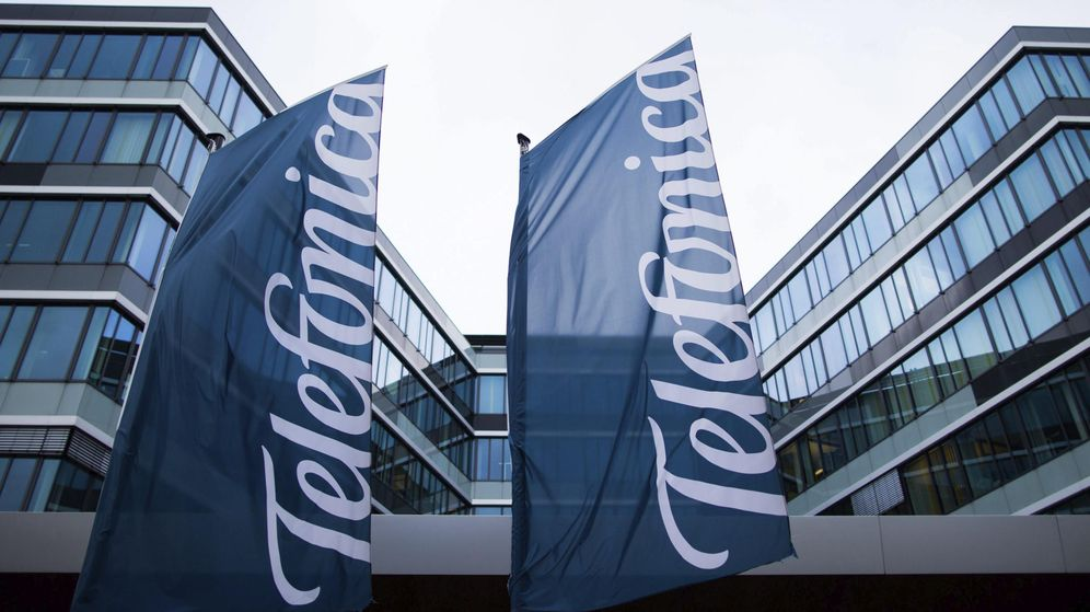 Foto: Sede de Telefónica en Düsseldorf (Alemania). (EFE)