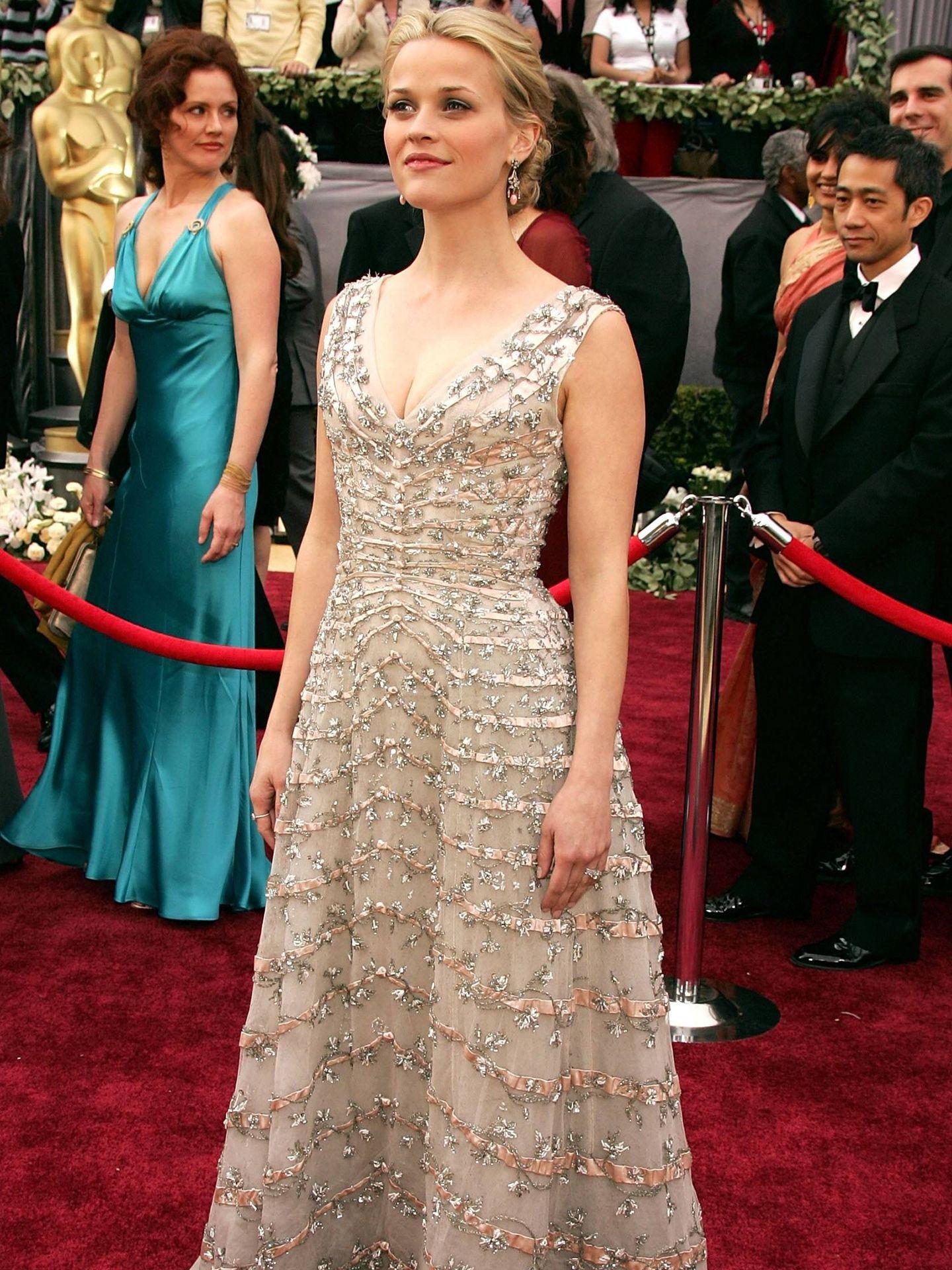 Reese Witherspoon, en los Oscar de 2006. (Getty)