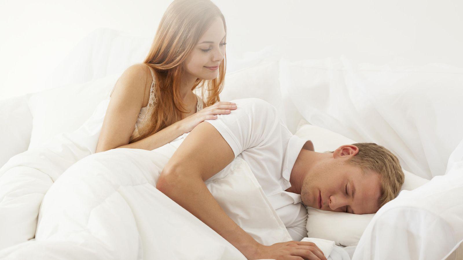 Foto: Le notas muy animado... Pero no, no está soñando contigo. (iStock)