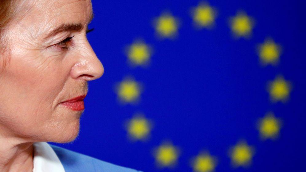 Foto: Von der Leyen en el Parlamento Europeo. (Reuters)