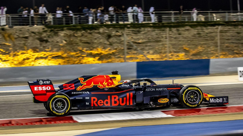 Max Verstappen durante el Gran Premio de Bahréin. (EFE)