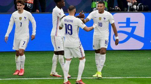 La sociedad Benzema-Mbappé tumba a una gran España en la Nations League (1-2)