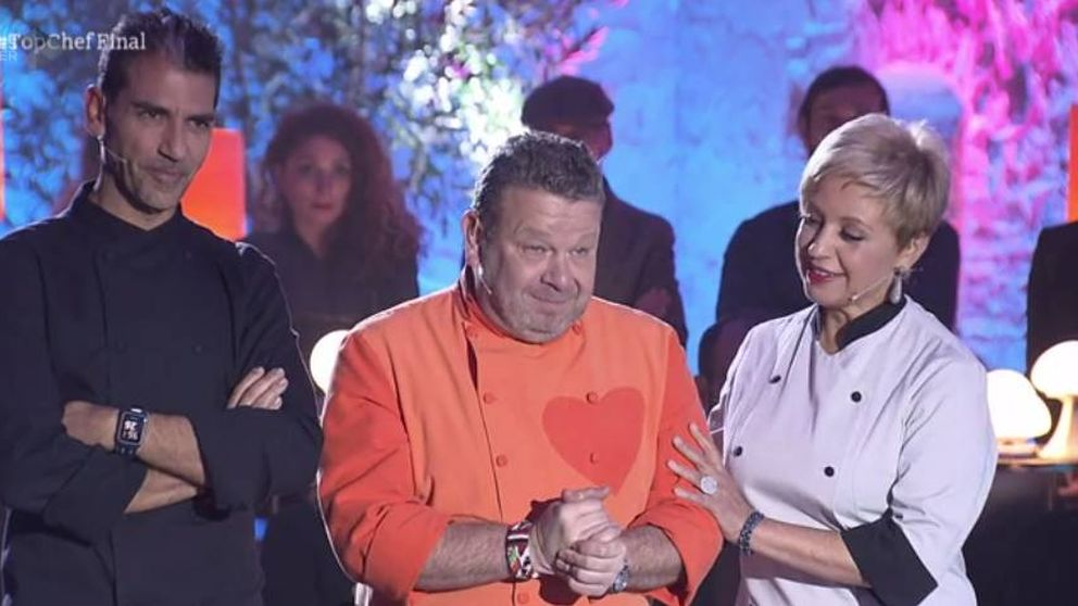 Alberto Chicote, apenado ante el final de 'Top Chef 4'