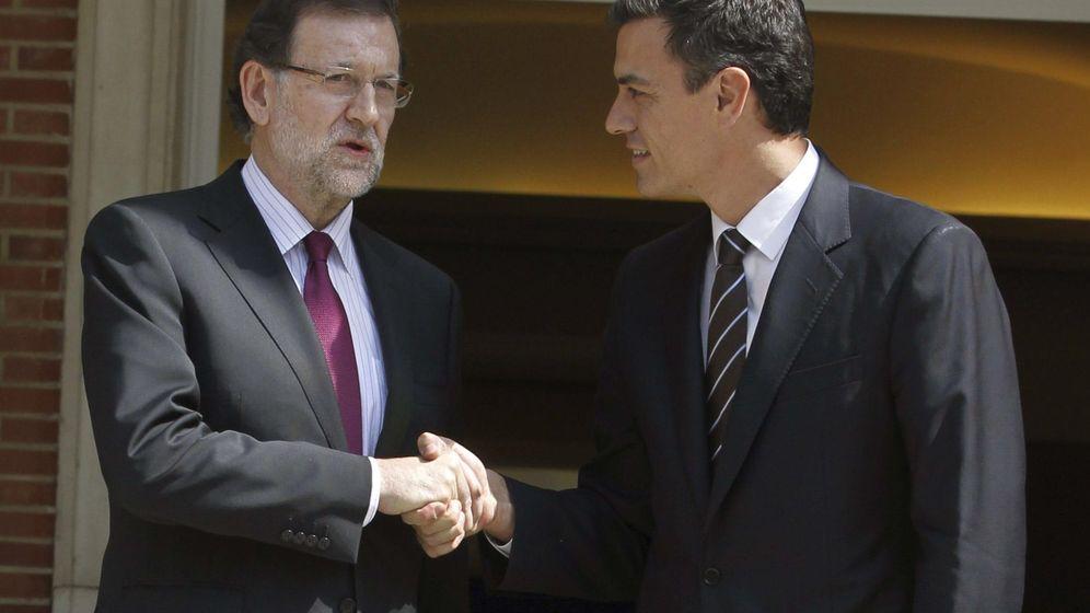 Foto: Mariano Rajoy y Pedro Sánchez. (EFE)