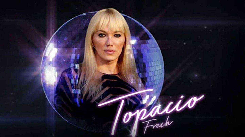 Topacio Fresh, concursante de 'Bailando con las estrellas'. (TVE)