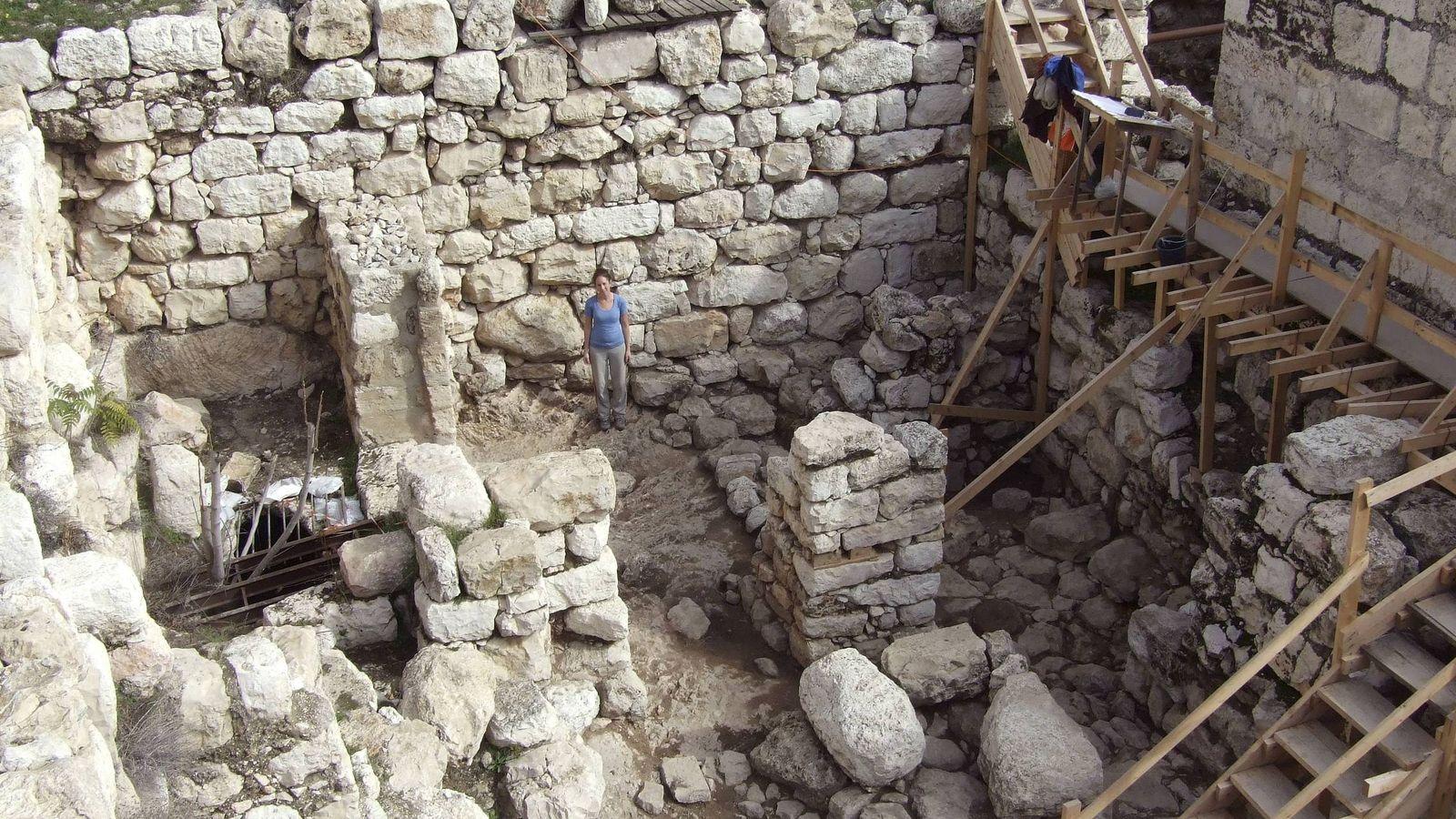 Foto: Hallan en las ruinas del Templo de Salomón un anillo de un personaje de la Biblia. (EFE)
