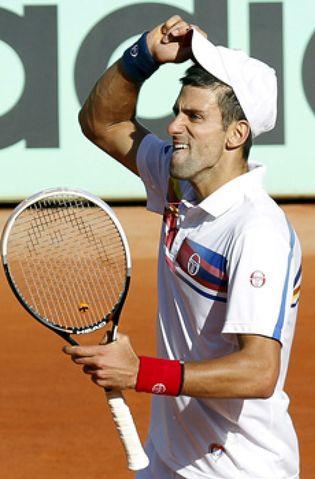 Foto: Djokovic vence a Gasquet y pasa a McEnroe