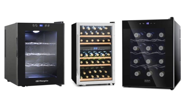 Las mejores vinotecas y neveras para mantener fríos los vinos en casa