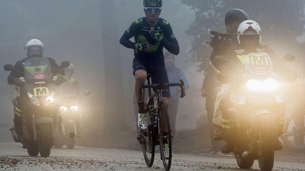 A Alejandro Valverde se le está acabando la batería tras su victoria en Murcia