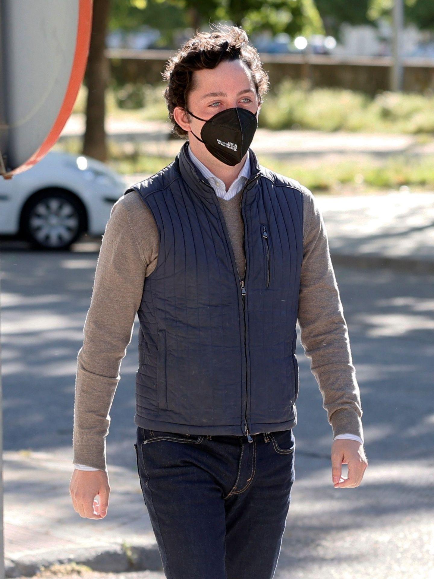 El pequeño Nicolás llega a la Audiencia Provincial de Madrid. (EFE)
