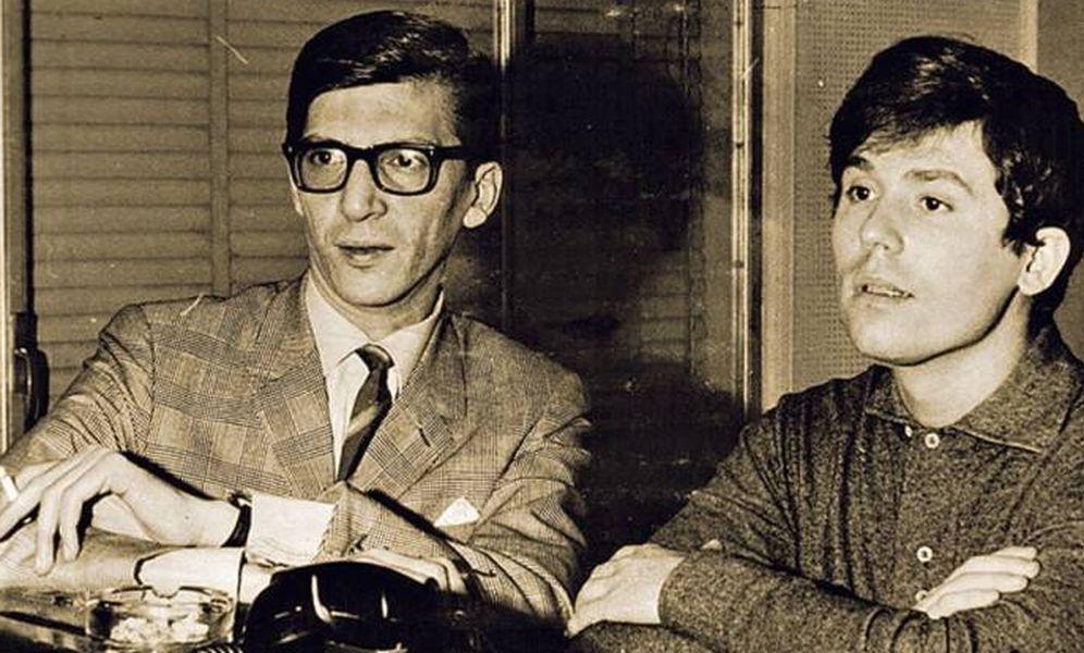 Foto: Manuel Alejandro con Raphael
