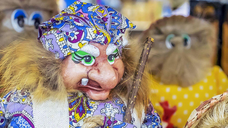 La malvada bruja Baba Yaga.