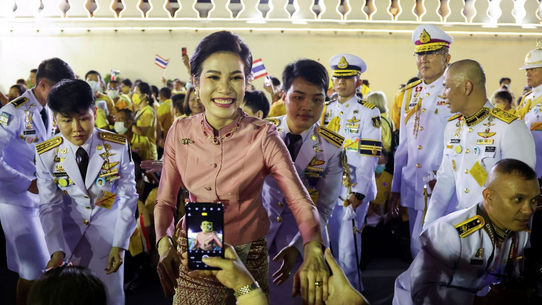 Sineenat, la concubina oficial del rey de Tailandia. (EFE)