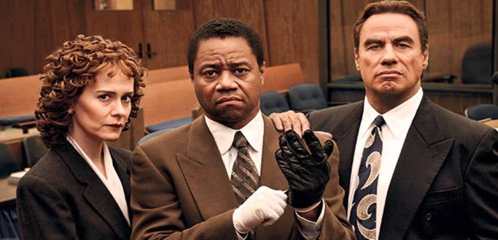 Foto: La fiscal, el acusado y el abogado