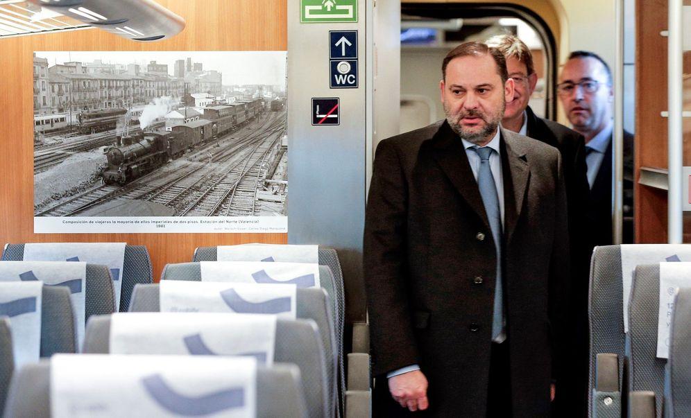 Foto: El ministro de Transportes, José Luis Ábalos, el pasado 11 de enero. (EFE)