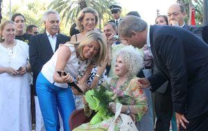 La duquesa de Alba pide a Marbella que paralicen los rascacielos